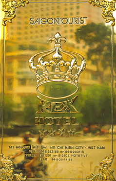 Rex Hotel Sign, Ho Chi Minh City, Saigon, Vietnam