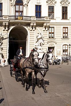 Vienna Hofburg Fiaker