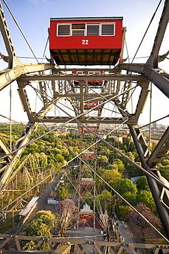 Vienna Austria Prater Big Wheel