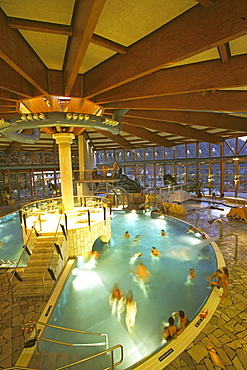 Thyrabad, indoor pool, Stolberg, Harz mountains, Saxony Anhalt, Germany