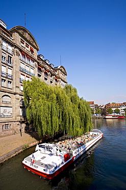 Quai des Pecheurs, Strasbourg, Alsace, France