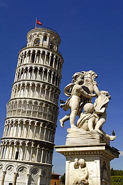 Italien, Toskana, Pisa, Schiefer Turm