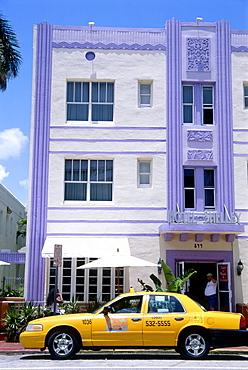 Hotel Shelly, Collins Avenue, South Beach, Miami, Florida, USA