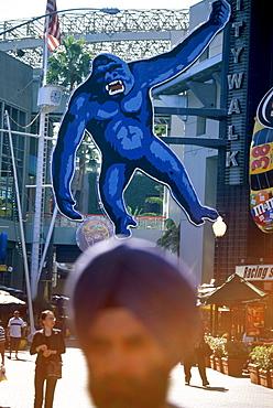 Shopping Mall City Walk at Toy City, Universal Studios, Universal City, L.A., Los Angeles, Kalifornien, USA