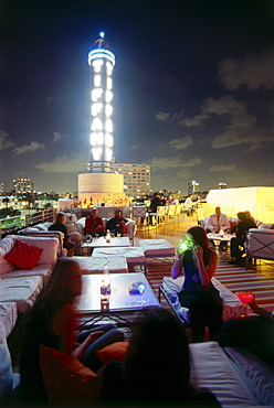 Spire Bar & Lounge at The Hotel, South Beach, Miami, Florida, USA