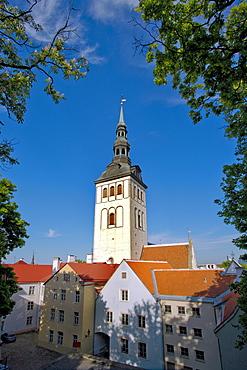 St. Nicolai church, Tallinn, Estonia, Europe