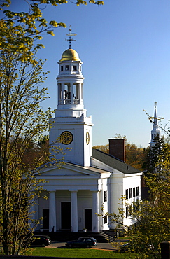 View of a Library, Concord, Massachusetts, USA