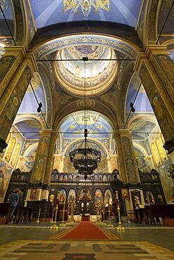 altar, Cathedral of the Assumption, Chram Sv. Uspenie Bogorodicno, Varna, Bulgaria, Europe