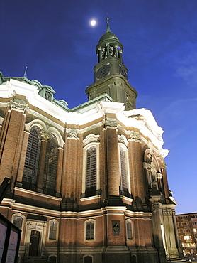 Saint Michaelis Church, Hanseatic City of Hamburg, Germany
