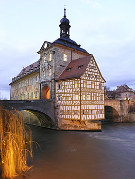 Old Town Hall, Bamberg, Franconia, Germany