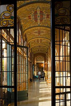 Hospital de la Santa Creu i Sant Pau, modernism, Domenech i Montaner, Eixample, Barcelona, Spain