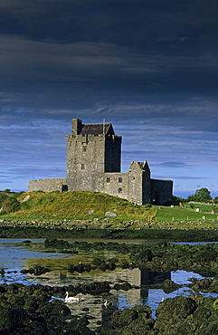 Dunguaire Castle, Kinvarra, Co. Galway, Ireland, Europe