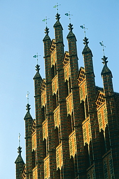 Gable of old Town Hall, Hannover, Lower Saxony, Germany