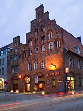 Lion Pharmacy, Hanseatic City of Luebeck, Schleswig Holstein, Germany