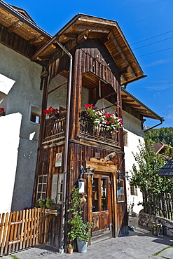 Farmhopuse in Puster valley, South Tyrol, Italy