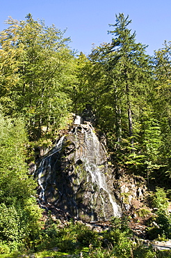 Radau Waterfall near Bad Harzburg, Harz, Lower Saxony, Germany