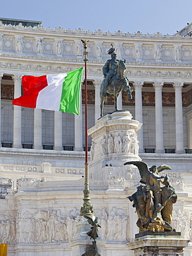 Natinal Monument Monumento Vittorio Emanuele II, Piazza Venezia, Rome, Lazio, Italy