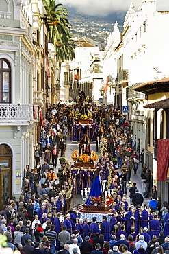 Easter procession, Semana Santa, La Orotava, Tenerife, Canary Islands, Spain, Europe
