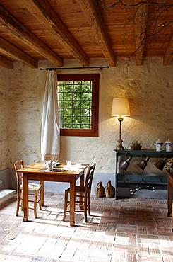 Breakfast room, Agriturismo and vineyard Ca' Orologio, Venetia, Italy
