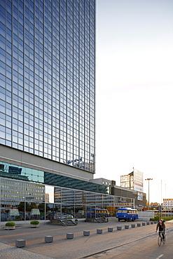 Facade of Park Inn Hotel, Alexanderplatz, Berlin, Germany