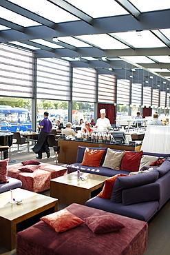 Spagos Restaurant and Lounge, Park Inn Hotel, Alexanderplatz, Berlin, Germany