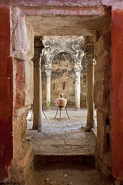 Arabian baths from the 10th century, Banys Arabs, Palma de Mallorca, Mallorca, Spain