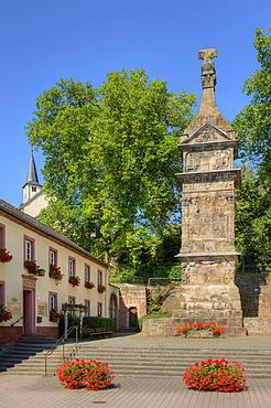 Roman Column Igel, UNESCO world heritage, Moselle, Rhineland-Palatine, Germany