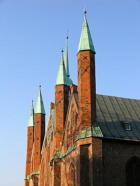 Hospital of the Holy Ghost, Hanseatic City of Luebeck, Schleswig Holstein, Deutschland