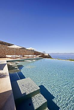 Infinity pool, Hotel Cap Rocat, Ctra. d'enderrocat, s/n, 07609 Cala Blava, Mallorca, Balearic Islands, Spain