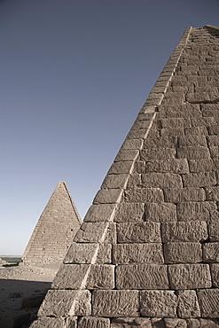 Pyramids near Jebel Barkal, Napata, Karima, Northern, Sudan