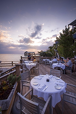 Restaurant Louie's Backyard, Key West, Florida Keys, Florida, USA