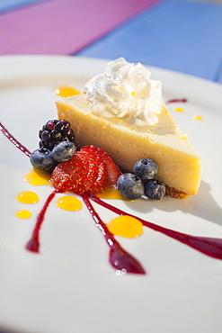 Key Lime Pie, Restaurant MORADA BAY, Islamorada, Florida Keys, USA