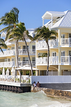 Luxury hotel Reach Resort, Key West, Florida Keys, USA