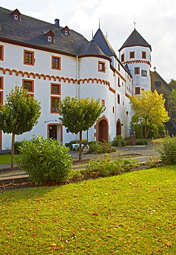 Schloss Gondorf Castle, Princes von der Leyen, Kobern-Gondorf, Mosel, Rhineland-Palatinate, Germany, Europe