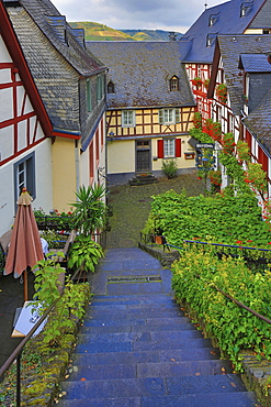Old town of Beilstein, Mosel, Rhineland-Palatinate, Germany, Europe