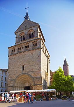 St. Maurice's Basilica, Epinal, Mosel, Dept. Vosges, Region Alsace-Lorraine, France, Europe