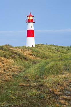 List lighthouse, Ellenbogen, Sylt, Schleswig-Holstein, Germany