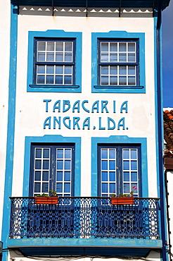 House in Angra do Heroismo, Island of Terceira, Azores, Portugal