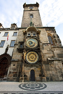 Astronomical Clock and calendar of the Old Town Hall, Prague, Czech Republic