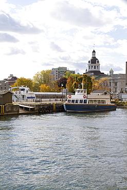 Boats on the Cataraqui River, Kingston, Ontario, Canada