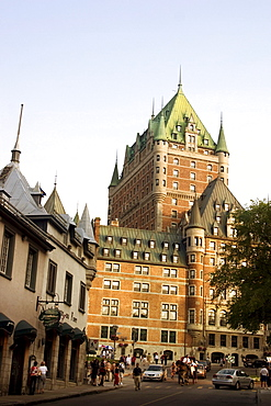 The Chateau Frontenac Hotel, Quebec City, Quebec