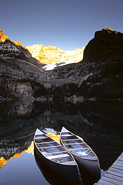 Yoho National Park, Lake O'Hara, British Columbia,