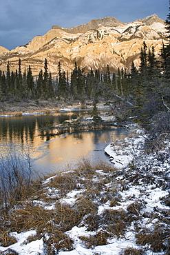 The Miette Range, Jasper National Park, Alberta