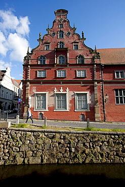 Schabbellhaus, city museum of Wismar, Germany