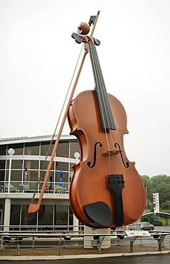 Big Fiddle at the Marine Terminal in Sydney, Nova Scotia