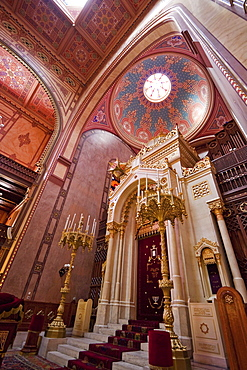 Torah ark of the Great Synagogue on Dohuny Street, Budapest, Hungary