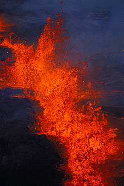Hawaii, Big Island, Kilauea Volcano, East Rift Zone eruption