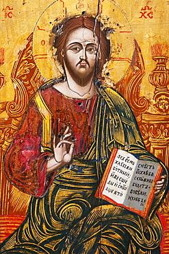 Icon In The Church Of St. Luke, Kotor, Montenegro