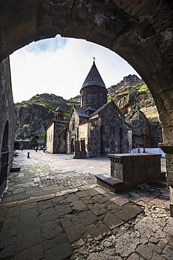 Church of the Holy Mother of God at Geghard Monastery, Azat Valley, Kotayk, Armenia