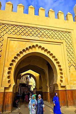 Bab Sammarine Gate, Fez, Morocco, North Africa, Africa